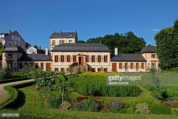 Prince George's garden and Pretlack'sches summer house Darmstadt Hesse Germany The Prince George's garden in its present extent exists since 1765 He...
