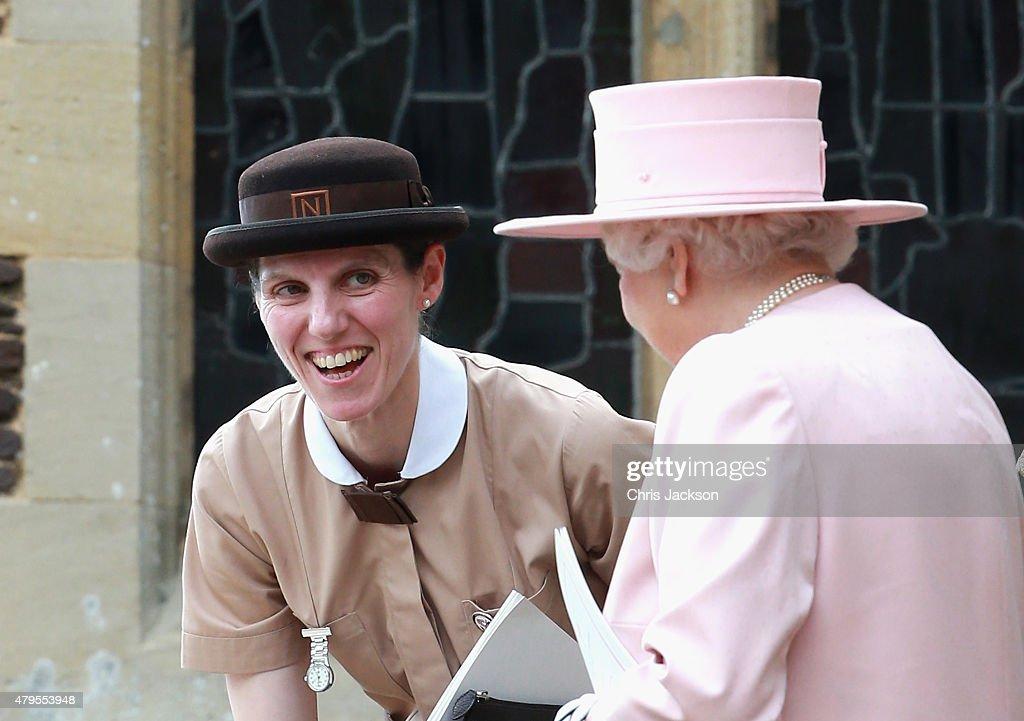 The Christening Of Princess Charlotte Of Cambridge : Foto di attualità