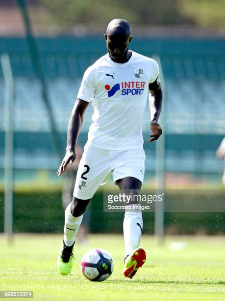 Prince Gouano of Amiens SC during the Club Friendly match between Amiens SC v UNFP FC at the Centre Sportif Du Touquet on July 13 2018 in Le Touquet...