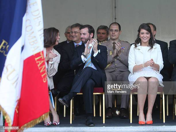 Prince Guillaume and Princess Alexandra of Luxembourg visit the city of d'EschsurAlzette on June 22 2012 in Luxembourg Luxembourg