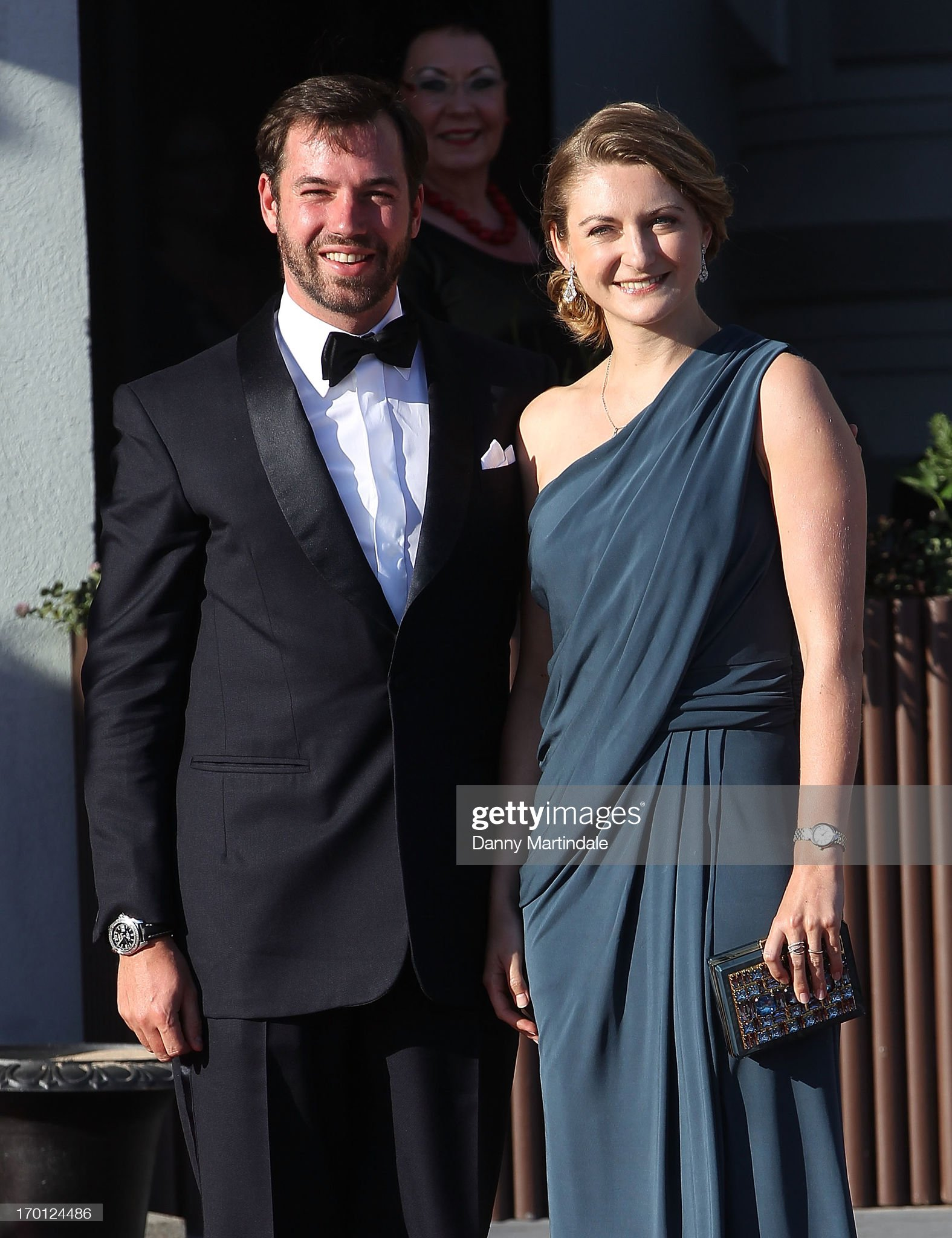 King Carl Gustav & Queen Silvia Host Private Dinner For The Wedding Of Princess Madeleine & Christopher O'Neill-Outside Arrivals : News Photo
