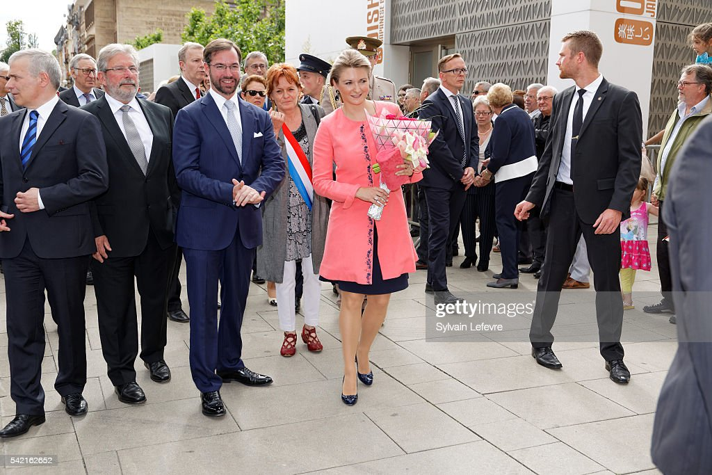 Luxembourg Celebrates National Day : Day 1 : News Photo