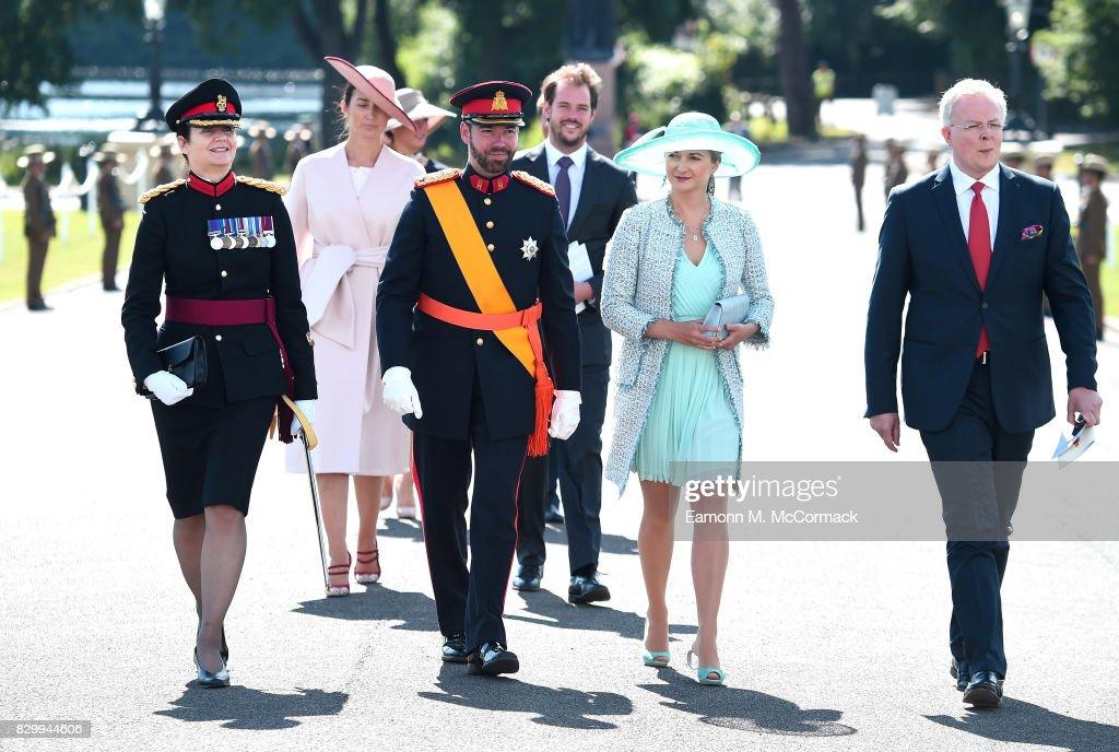 The Sovereign's Parade At Sandhurst : News Photo