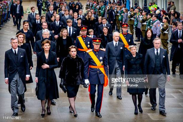 Prince Guillaume of Luxembourg Princess Margaretha of Luxembourg Grand Duchess of Maria Teresa of Luxembourg Grand Duke Henri of Luxembourg Arch...
