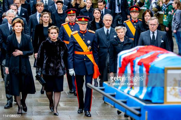 Prince Guillaume of Luxembourg Princess Margaretha of Luxembourg Grand Duchess Maria Teresa of Luxembourg Grand Duke Henri of Luxembourg Arch Duchess...