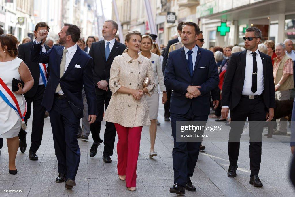 Luxembourg Celebrates National Day : Day One : Fotografia de notícias