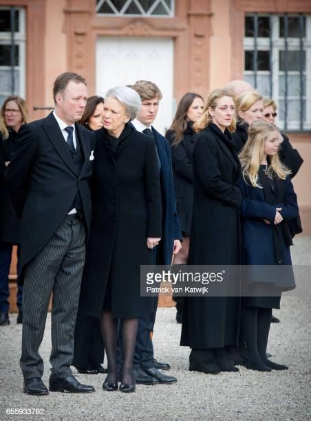 Prince Gustav zu SaynWittgensteinBerleburg Carina Axelsson Princess Benedikte of Denmark Count Richard Princess Alexandra zu...