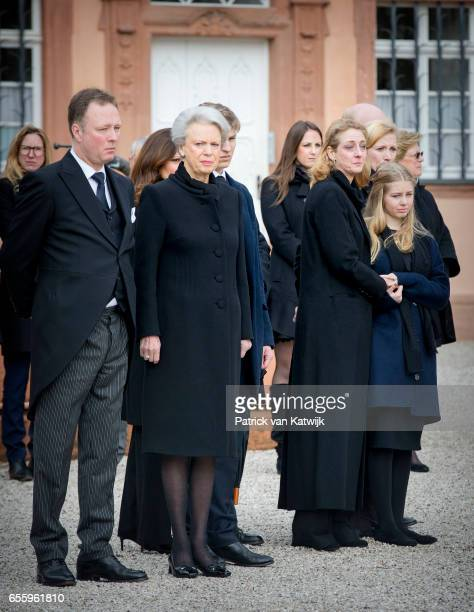 Prince Gustav zu SaynWittgensteinBerleburg Princess Benedikte of Denmark Count Richard Princess Alexandra zu SaynWittgensteinBerleburg Countess...