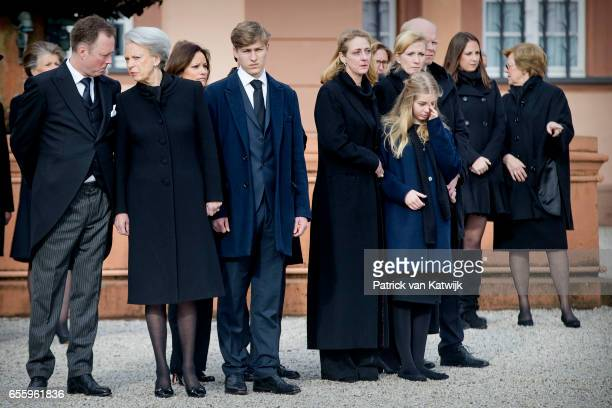 Prince Gustav zu SaynWittgensteinBerleburg Princess Benedikte of Denmark Carina Axelsson Count Richard Princess Alexandra zu...