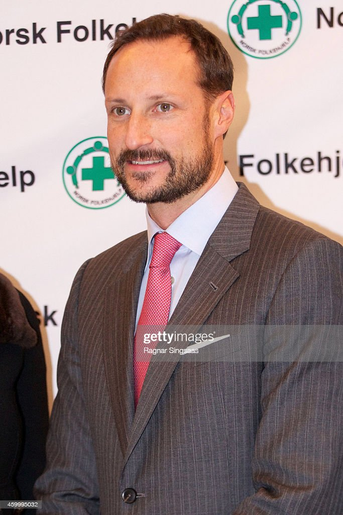 Prince Haakon of Norway attends the 75th Anniversary of the Norwegian People's Aid on December 5, 2014 in Oslo, Norway.
