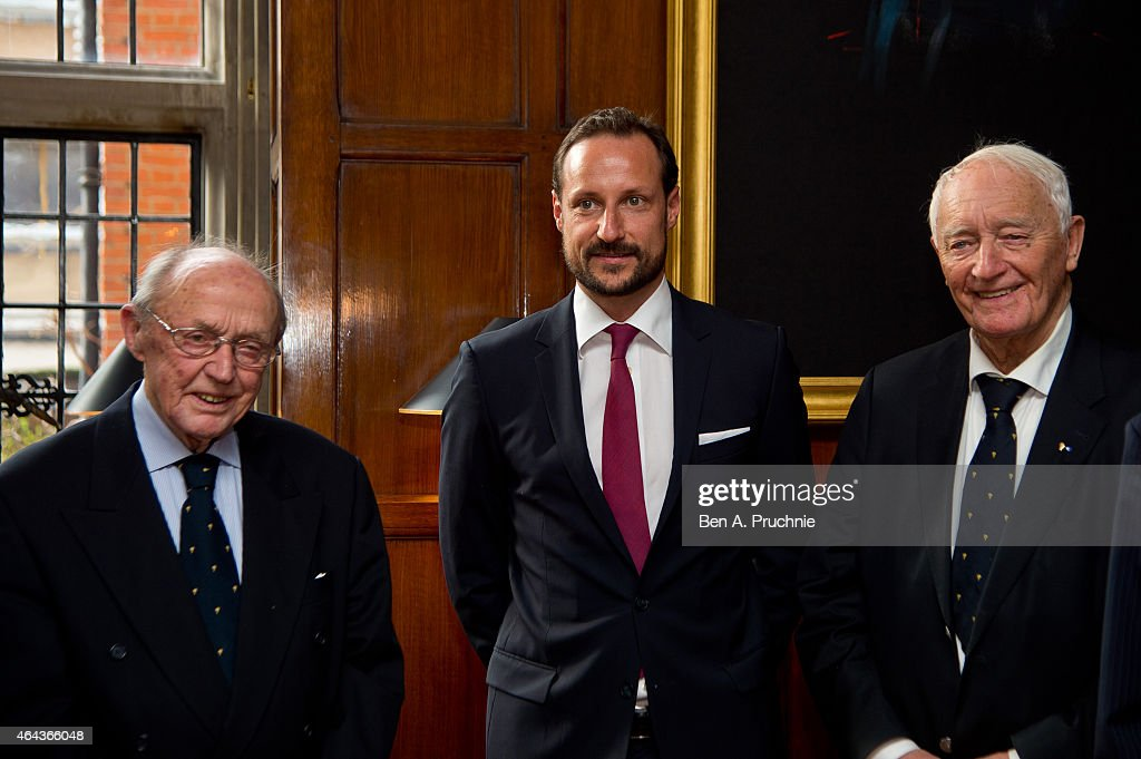 Crown Prince Haakon Of Norway Visits London : News Photo