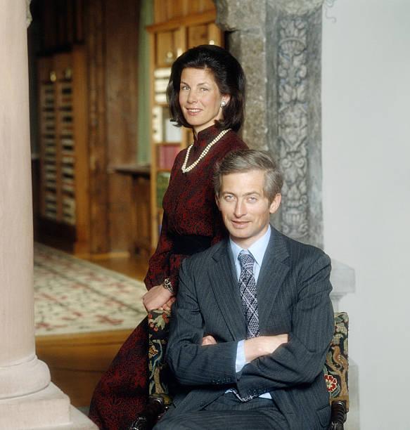 prince-hansadam-and-princess-marie-of-liechtenstein-vaduz-castle-7th-picture-id119453405