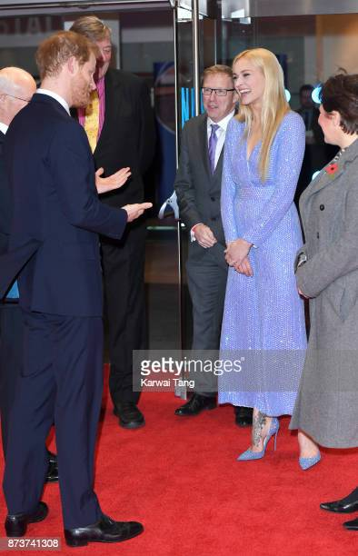 3d460aa5a0b Prince Harry and Fearne Cotton attend the Virgin Money Giving Mind Media  Awards at Odeon Leicester