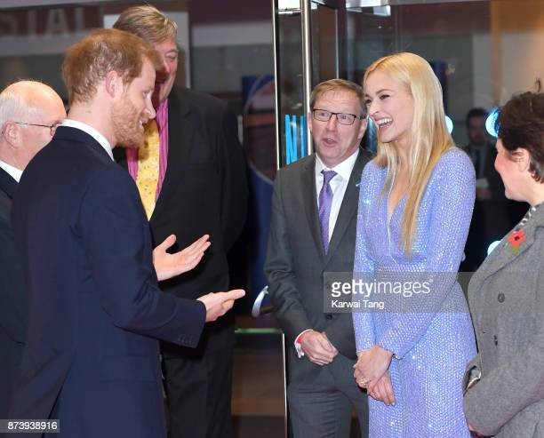 136992f783e Prince Harry and Fearne Cotton attend the Virgin Money Giving Mind Media  Awards at Odeon Leicester