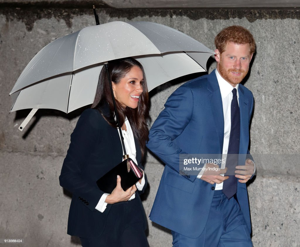 Prince Harry And Meghan Markle Attend The 'Endeavour Fund Awards' Ceremony : News Photo