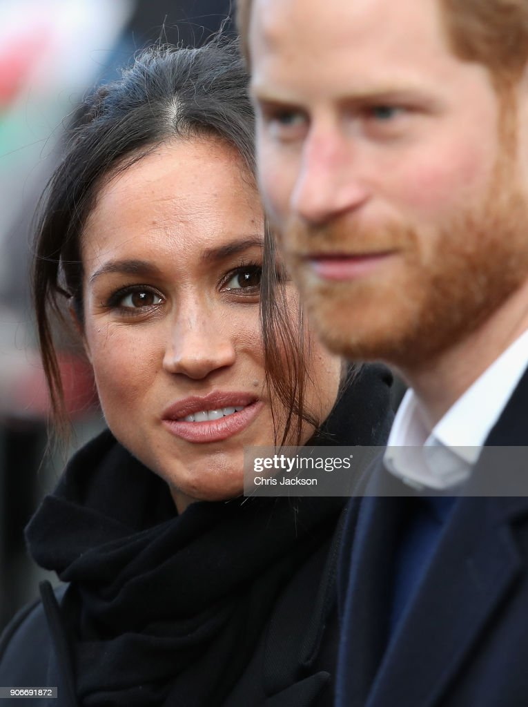 Prince Harry And Meghan Markle Visit Cardiff