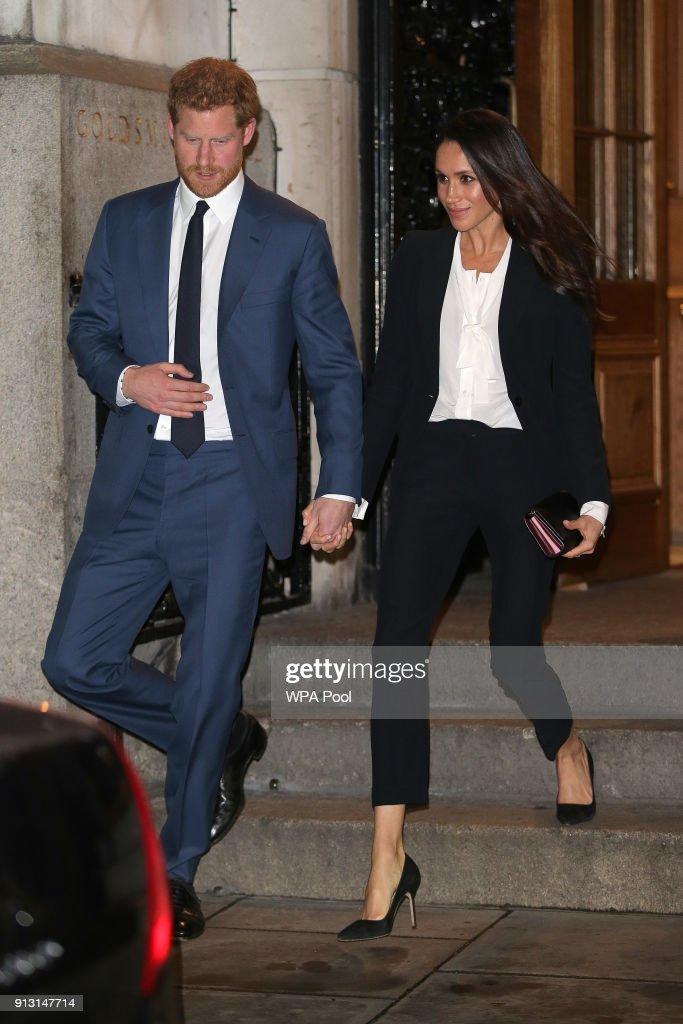 Prince Harry And Meghan Markle Attend The 'Endeavour Fund Awards' Ceremony : Photo d'actualité