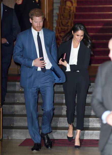 Le prince Harry et Meghan Markle assistent à la cérémonie de remise des prix Endeavour Fund Awards