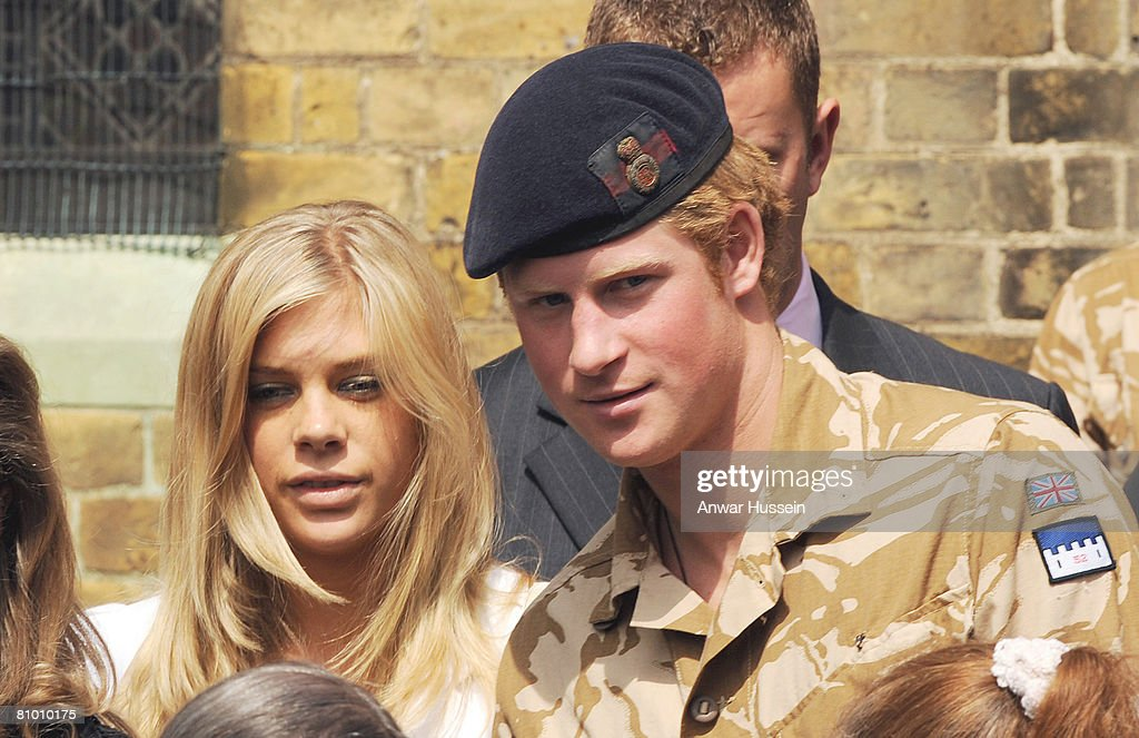 Prince Harry Afghanistan Campaign Medal : News Photo