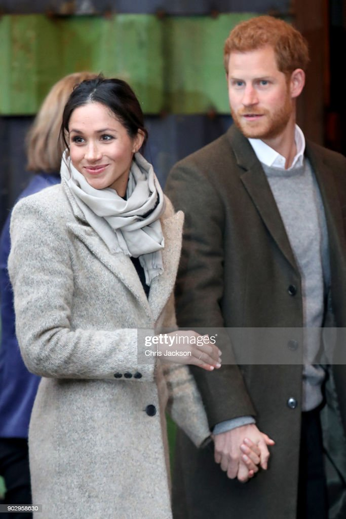 Prince Harry and Meghan Markle Visit Reprezent : News Photo