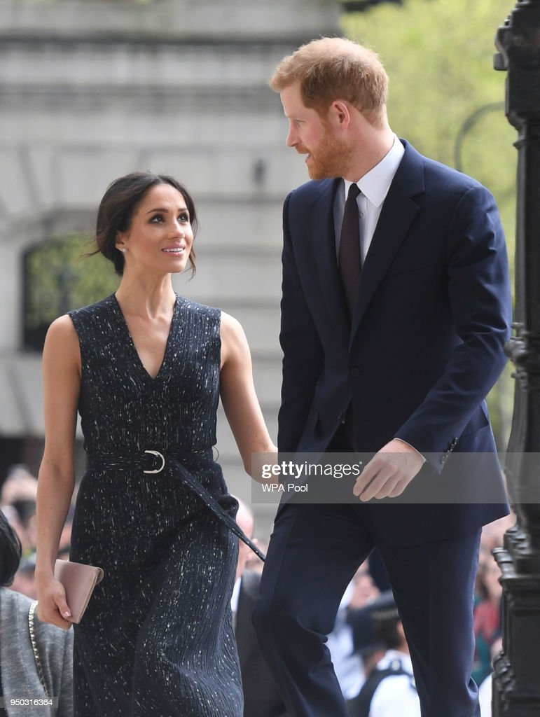 Prince Harry and Ms. Meghan Markle attend at 25th Anniversary Stephen Lawrence Memorial Service