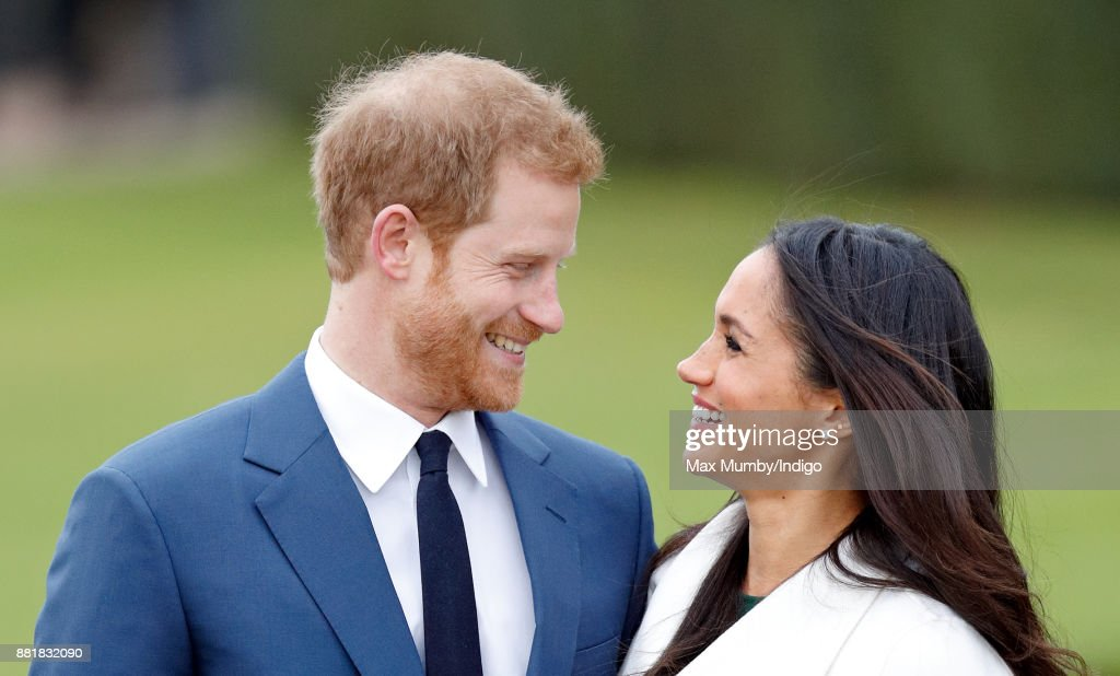 Announcement Of Prince Harry's Engagement To Meghan Markle : Foto di attualità