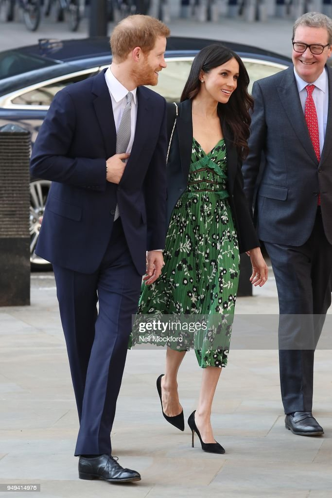 Prince Harry And Ms. Meghan Markle Attend Invictus Games Reception  -  April 21, 2018 : News Photo