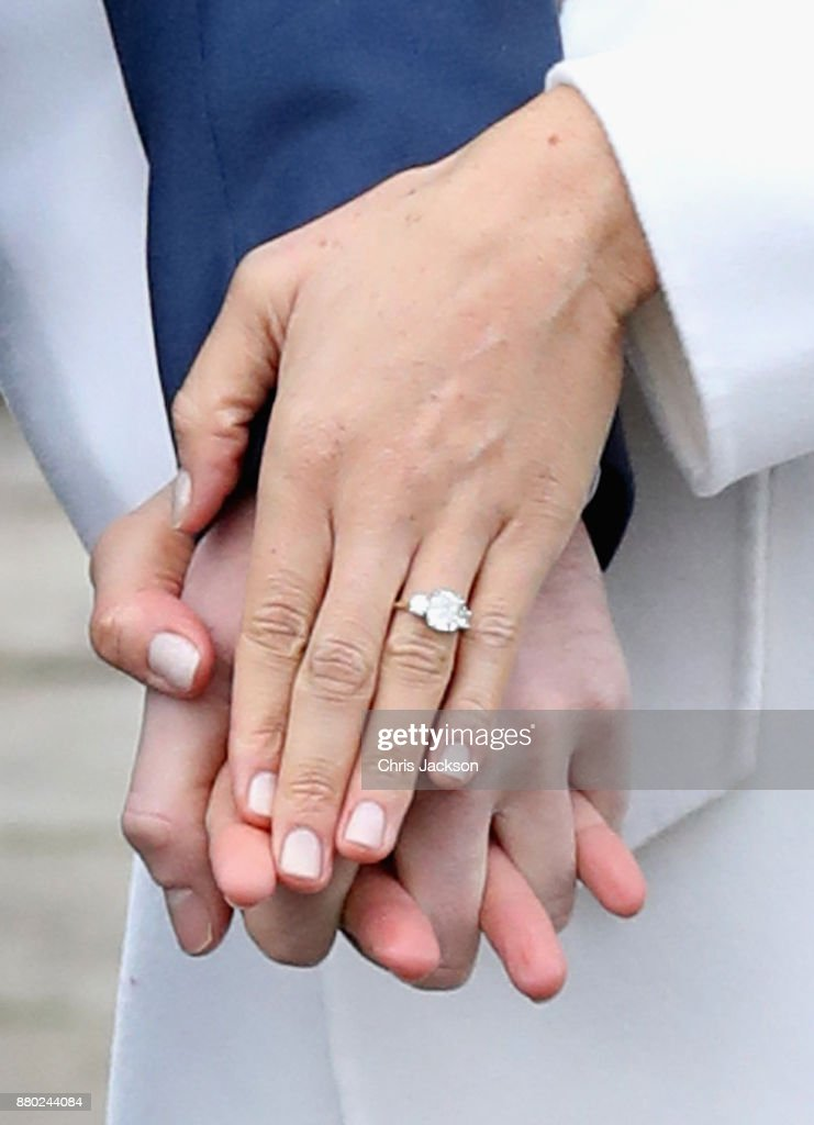 Announcement Of Prince Harry's Engagement To Meghan Markle : News Photo