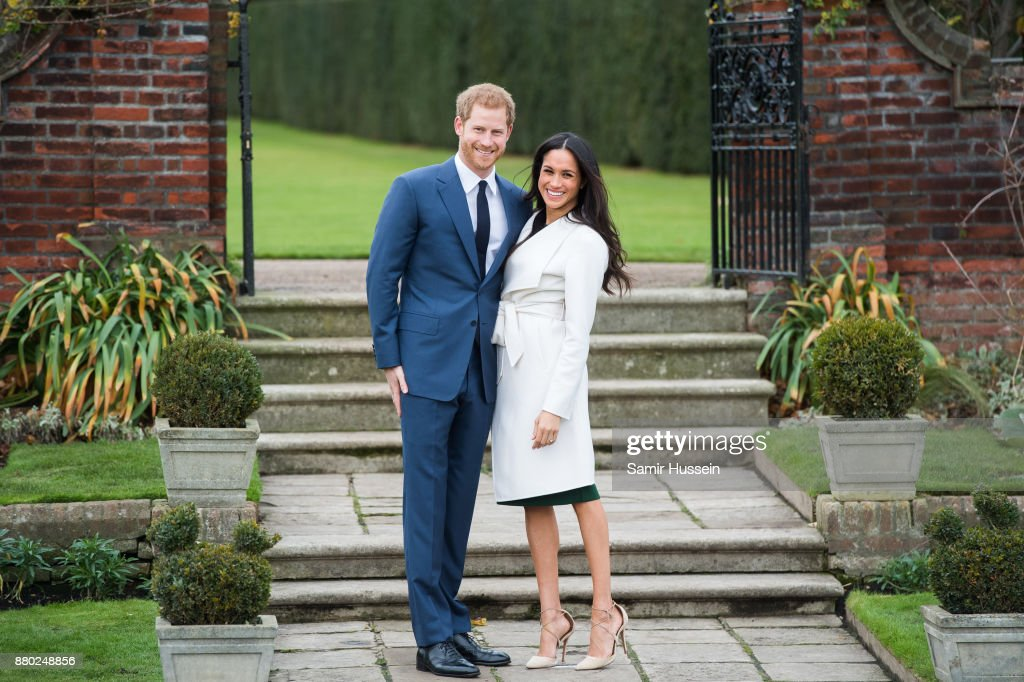 Announcement Of Prince Harry's Engagement To Meghan Markle : Nachrichtenfoto