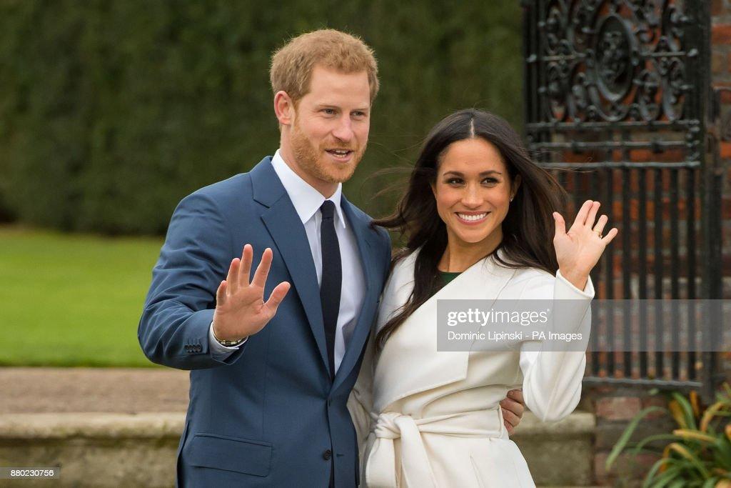 Prince Harry engagement : News Photo