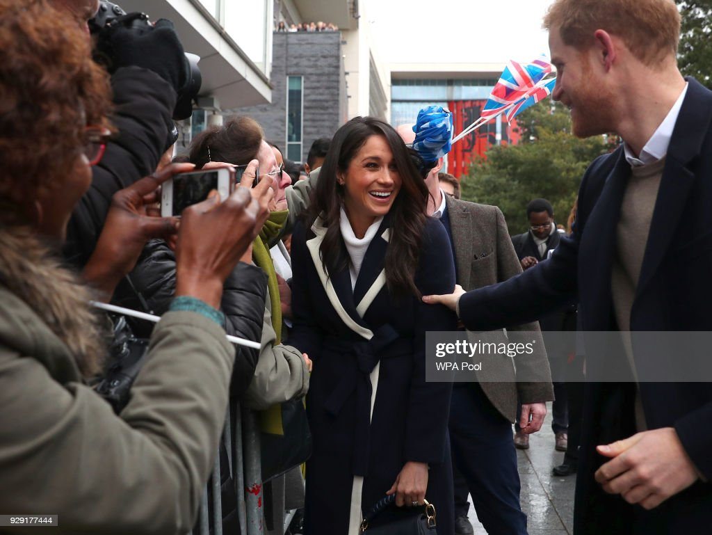 IN FOCUS: Prince Harry And Meghan Markle Visit Birmingham