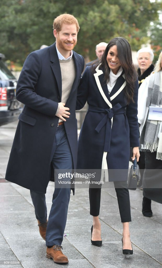 Prince Harry and Meghan Markle visit Birmingham : News Photo