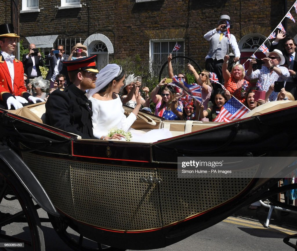 Royal wedding : News Photo