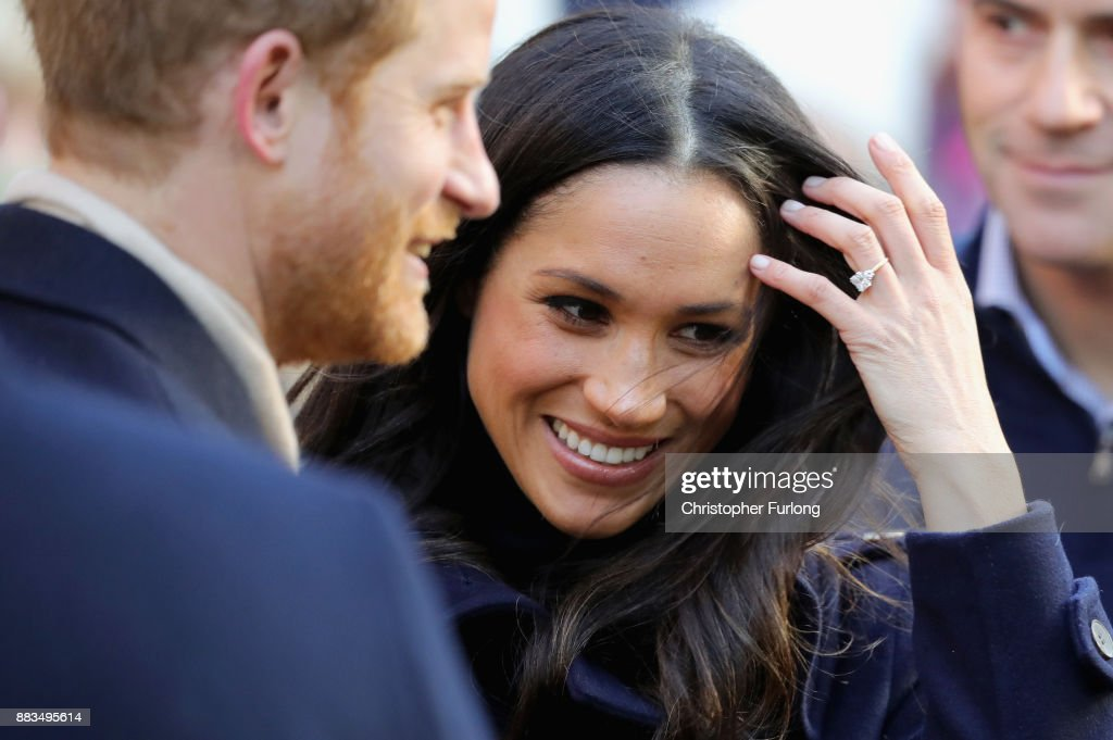 Prince Harry and Meghan Markle visit Nottingham Contemporary on December 1, 2017 in Nottingham, England. Prince Harry and Meghan Markle announced their engagement on Monday 27th November 2017 and will marry at St George's Chapel, Windsor in May 2018.