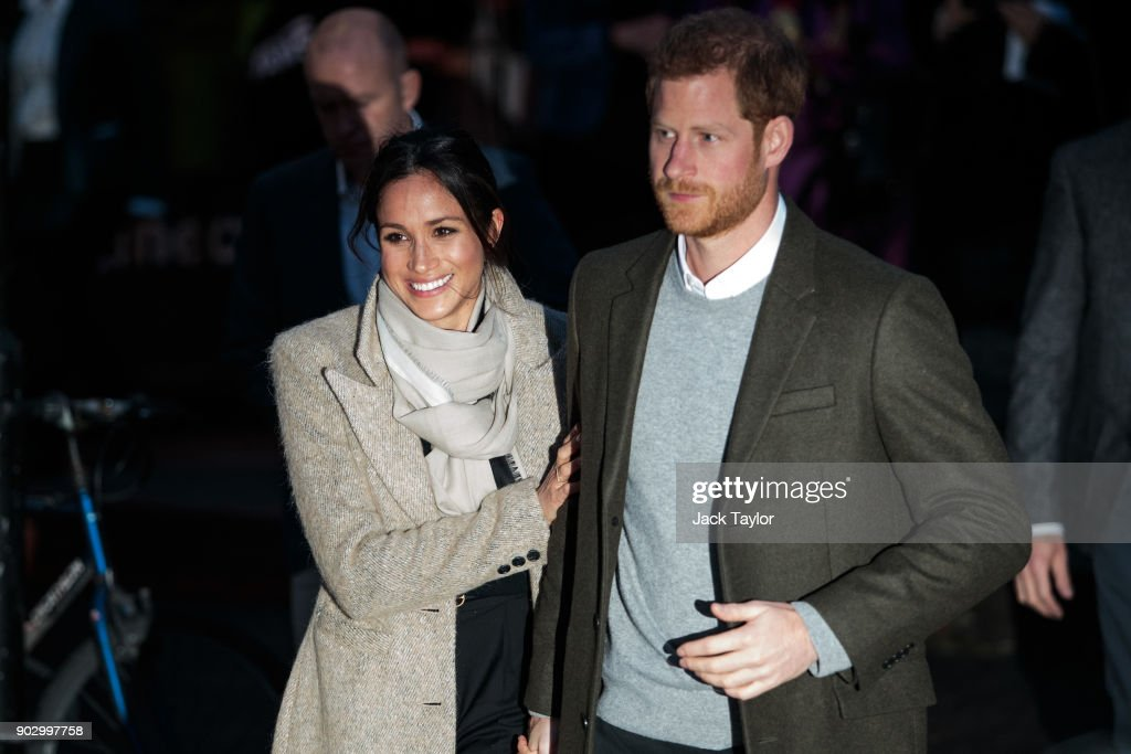Prince Harry and Meghan Markle visit Reprezent 107.3FM on January 9, 2018 in London, England. The Reprezent training programme was established in Peckham in 2008, in response to the alarming rise in knife crime, to help young people develop and socialise through radio.