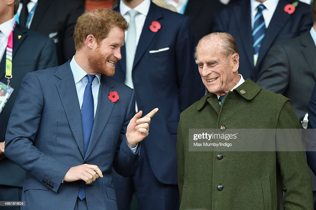 Royals & Celebrities Attend The Rugby World Cup : News Photo