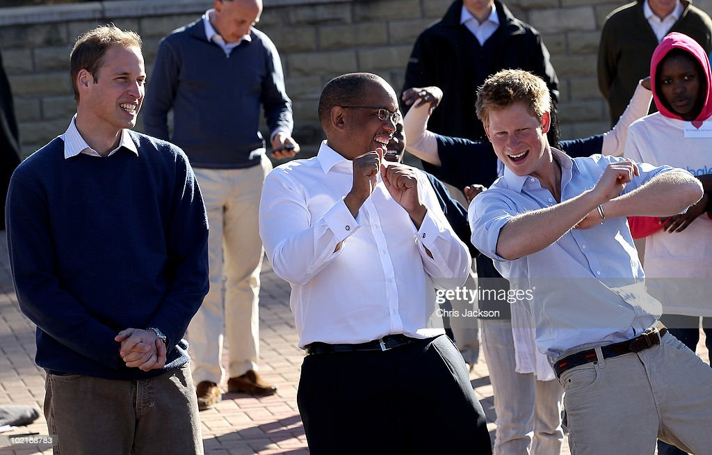Prince William And Harry Visit Lesotho - Day 2