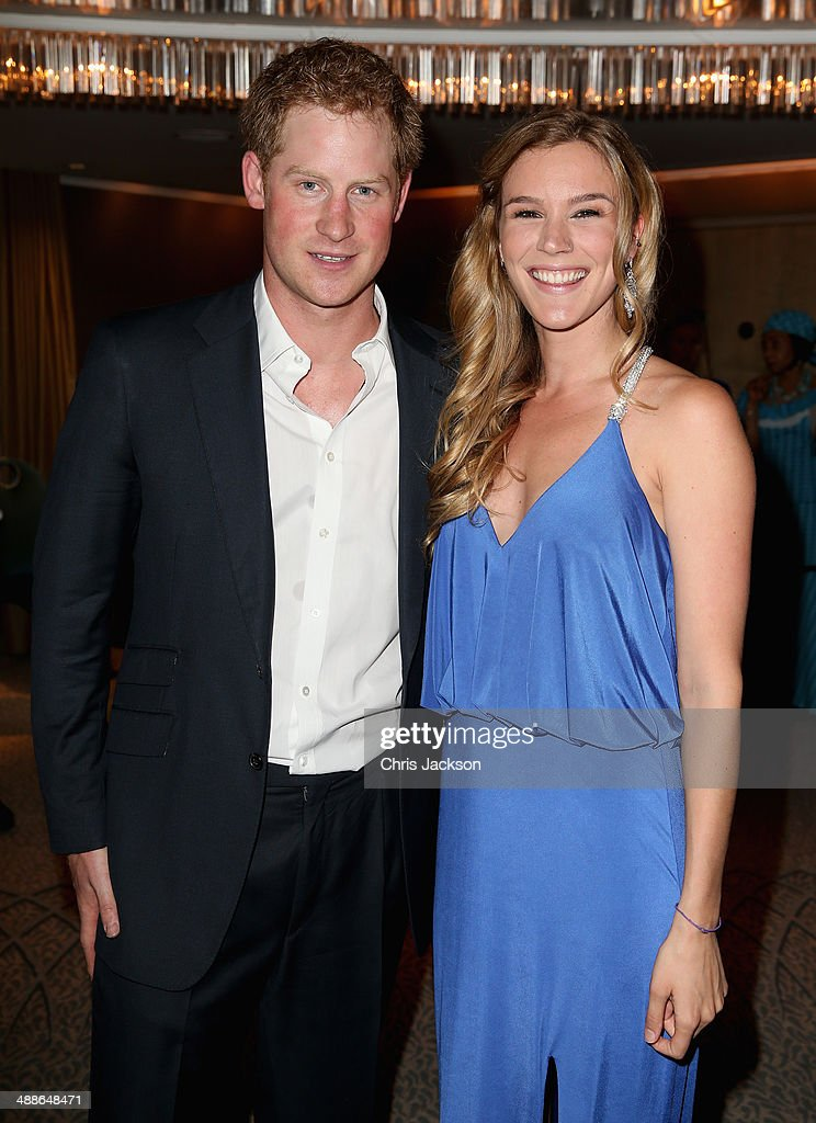 Prince Harry and Sentebale ambassador Joss Stone attend the Sentebale Summer Party at the Dorchester Hotel on May 7, 2014 in London, England.