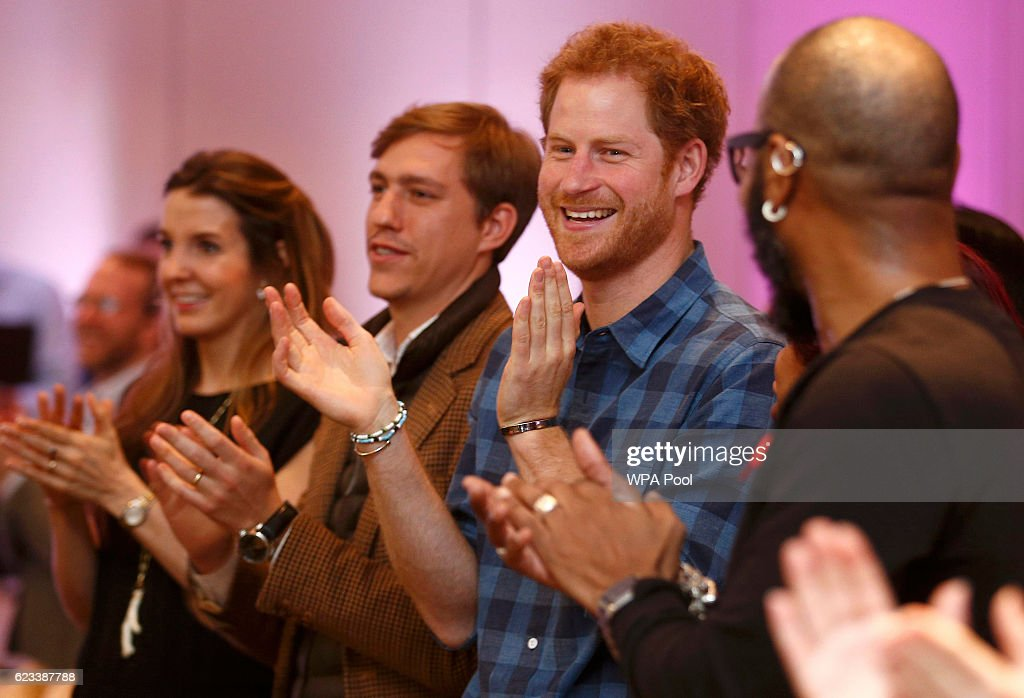 Prince Harry Visits NAZ : News Photo