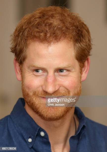 Prince Harry arrives at the High Commisioner's Residence Eden Hall on the first day of a two day visit to Singapore on June 4 2017 in Singapore