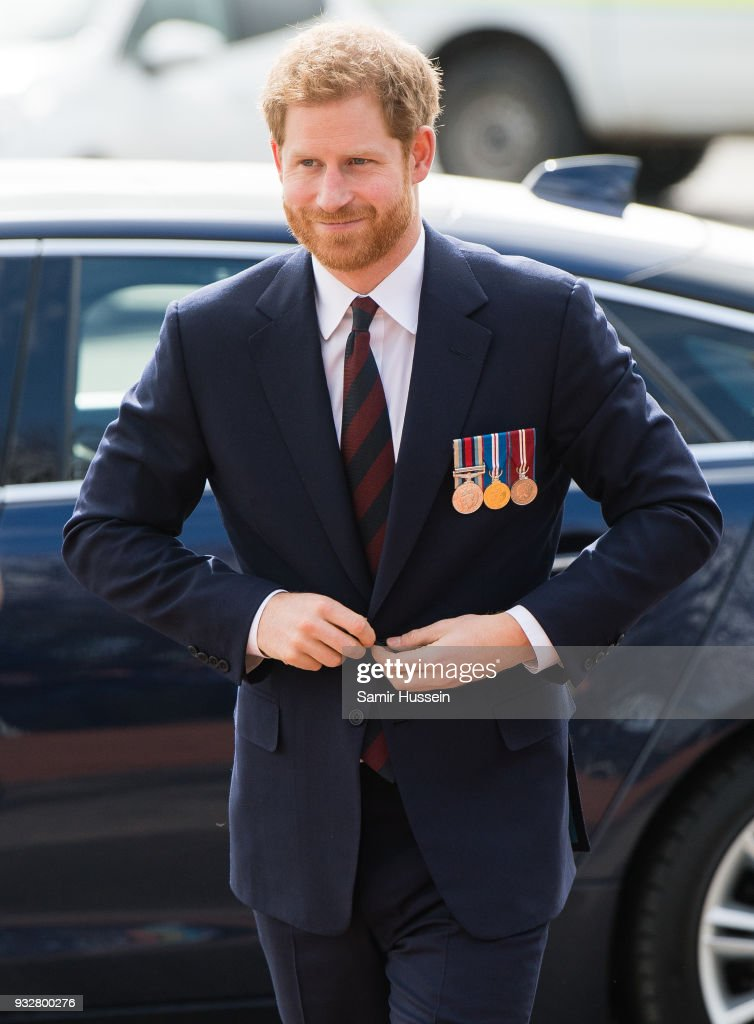 Prince Harry Presents Army Air Corps Pilots' Wings