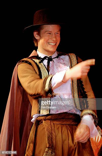 Prince Harry as Conrade in an Eton College production of Much Ado about Nothing