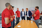 manchester england prince harry as he
