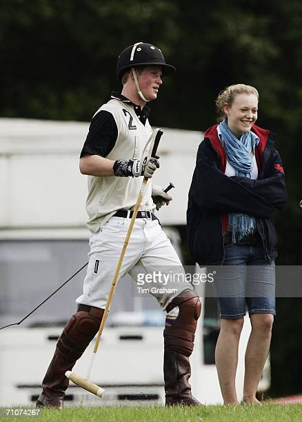 Prince Harry as Patron attends a polo match sponsored by Kuoni as a fundraiser for Sentebale charity The Prince's Fund for Lesotho on May 28 2006 at...