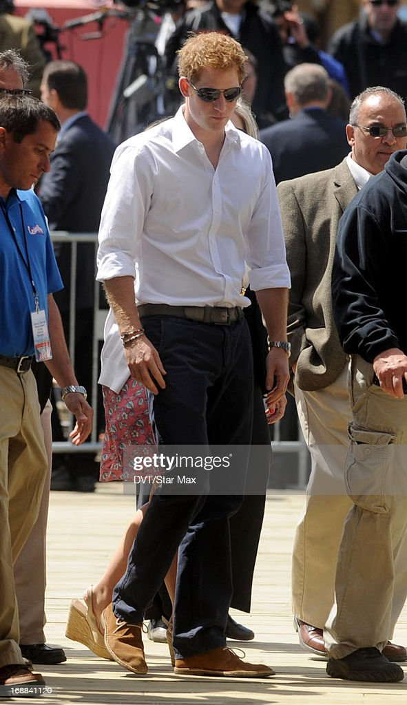 Prince Harry as seen on May 14, 2013 in Seaside Heights, New Jersey.