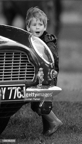Prince Harry At Cirencester Park Polo Club June 1987