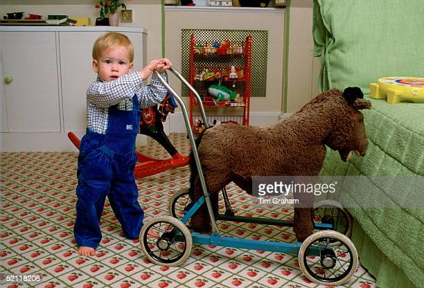 Prince Harry At Home In The Playroom At Kensington Palace
