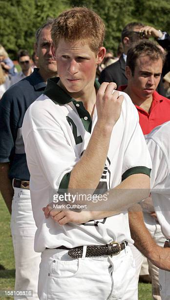 Prince Harry At The Rundle Cup Polo Day At Tidworth Polo Club In Wiltshire
