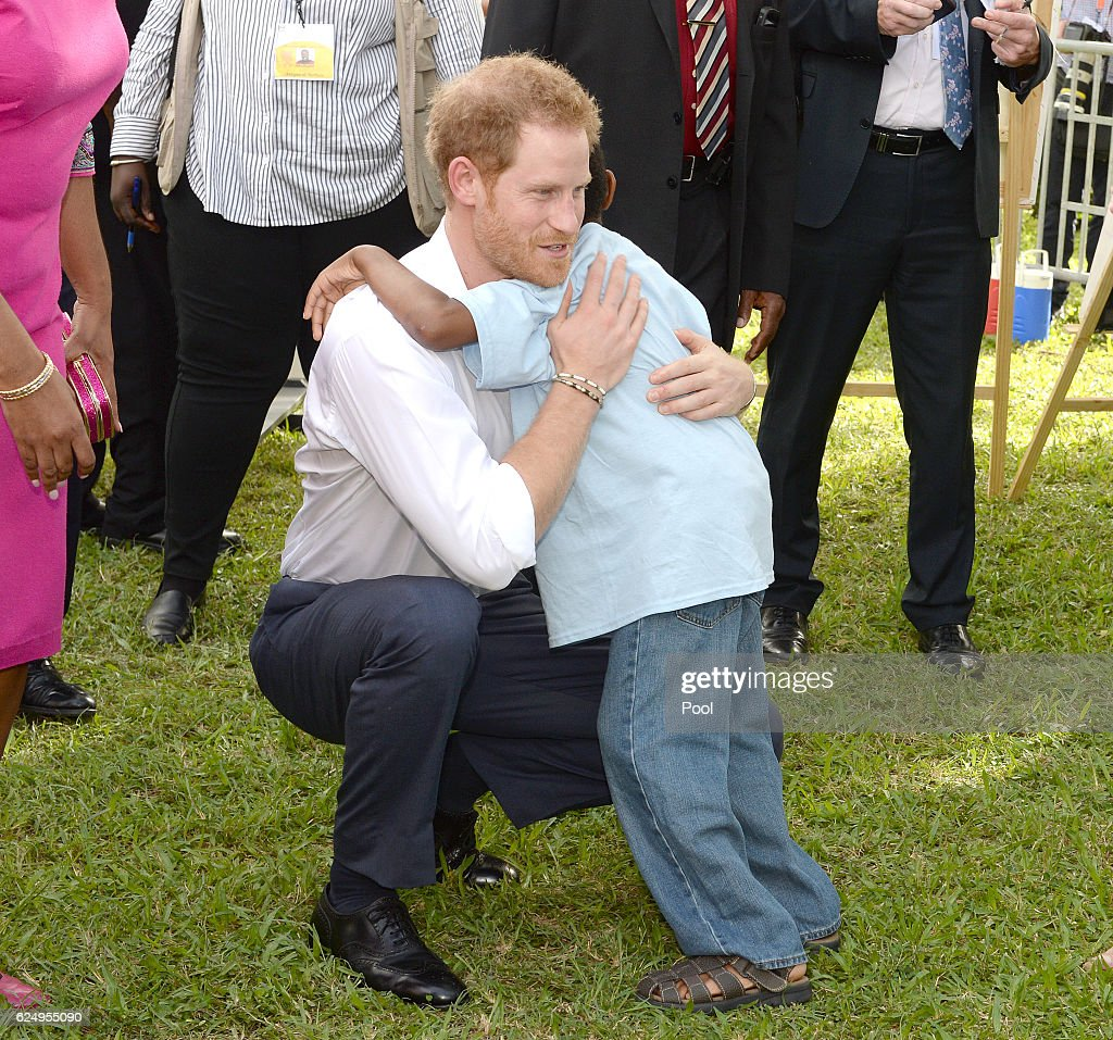 Prince Harry Visits The Caribbean - Day 2 : News Photo