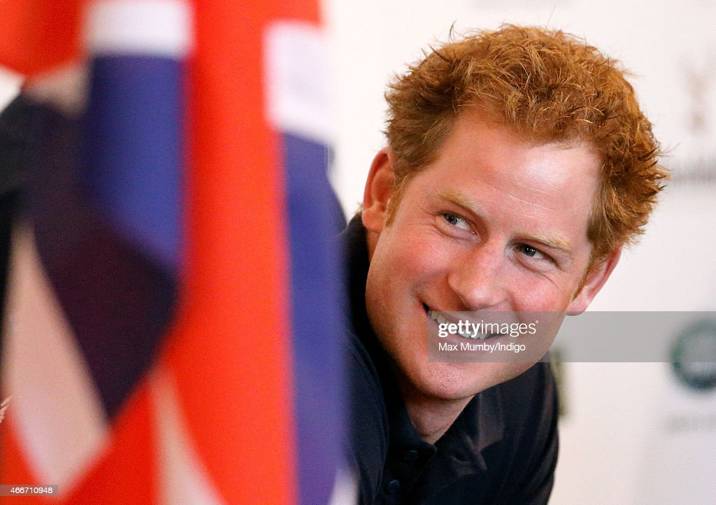 Prince Harry attends the launch event for Walking with the Wounded's 'Walk of Britain' at the Mandarin Oriental Hotel on March 18, 2015 in London, England.